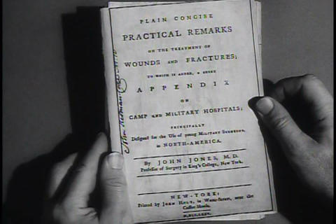 The U.S. Army medical service is honored in this h Footage