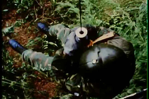 Downed pilots are rescued in Vietnam in 1971 Live Action