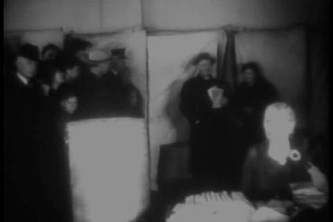 FDR wins the 1936 Presidential elections in a land Live Action