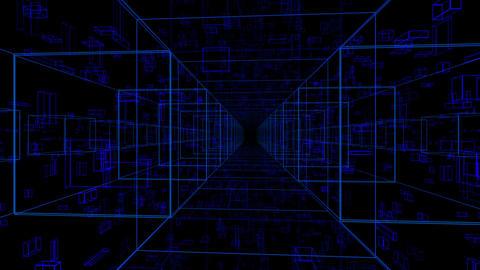 Digital Space 023 Stock Video Footage