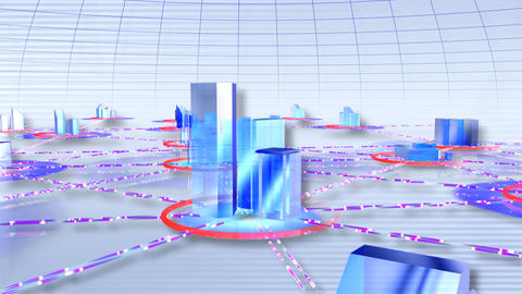 Network City cw Animation