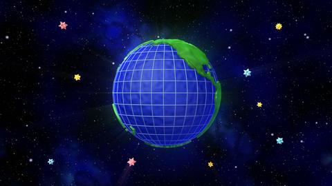 Earth C A Animation