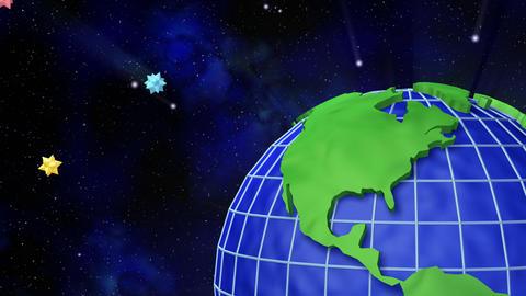 Earth C B Stock Video Footage