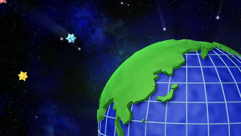 Earth C B Animation