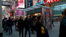 NYC Times Square 06 Stock Video Footage
