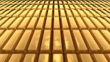 Gold Bar AA2 stock footage