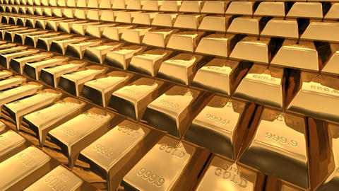 Gold Bar A Stock Video Footage