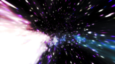 STAR HD 03 mov It goes forward ..in the star Stock Video Footage