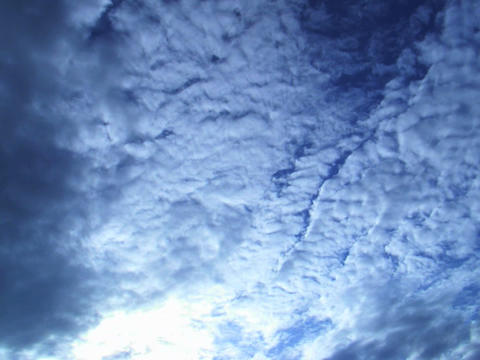 SKY 05 mov Do the float of an empty cloud Stock Video Footage