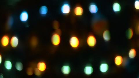christmas light glow 02 Footage