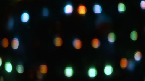 christmas light glow 02 Stock Video Footage