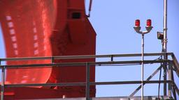 Airport Radar Tower, Close Stock Video Footage