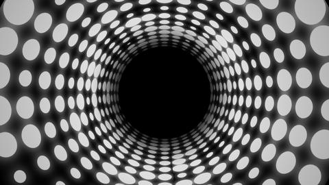 Disco Light Tunnel (25fps) Animation