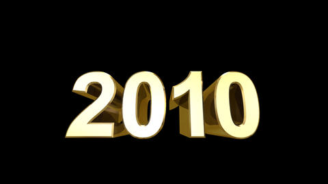 2010 Bold D HD Stock Video Footage