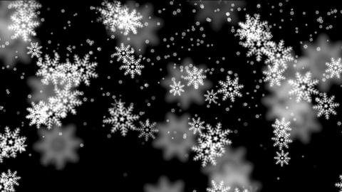 digital snow Stock Video Footage