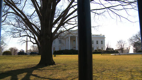 U.S. White House 01 Stock Video Footage