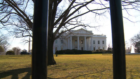 U.S. White House 01 Stock Video Footage
