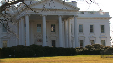 U.S. White House 03 Stock Video Footage