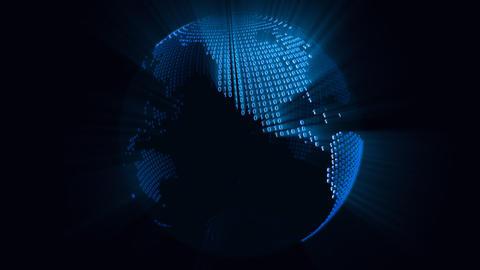 Digital World Stock Video Footage