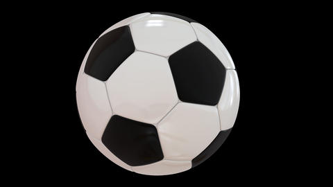 Rotating Football Animation