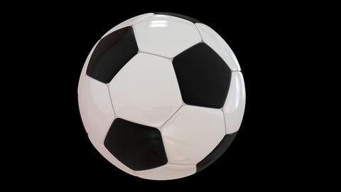 Rotating Football Animation