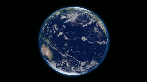 Rotate Earth Stock Video Footage