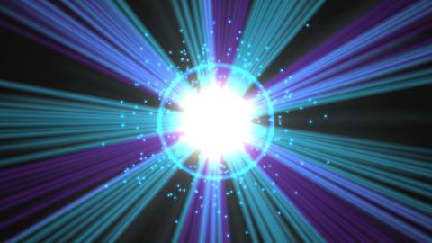 Light Flash Effect Stock Video Footage
