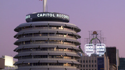 Capitol Records 01 (Time Lapse) Footage