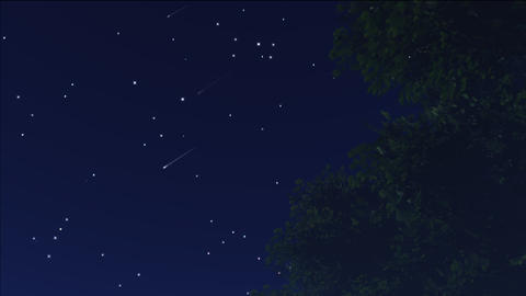 meteor shower 12 Animation