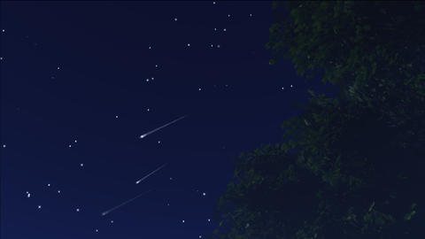 meteor shower 12 Stock Video Footage