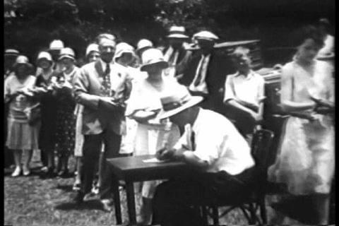 Annual pigeon races at Signal Mountain Tennessee i Footage