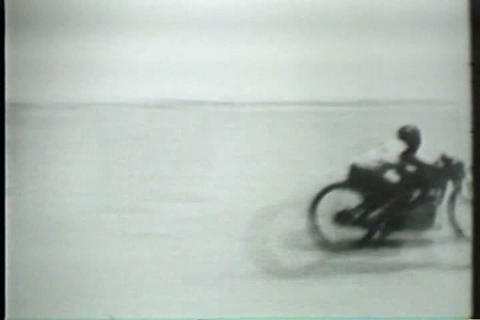 Dirt motorcycles become popular in 1929 Footage