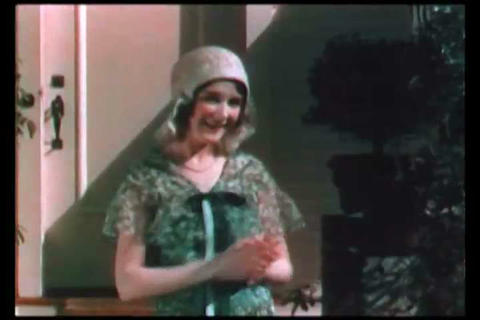 The latest in Paris fashion for women in 1933 Footage