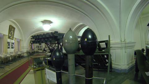 Artillery shells 2.7K Footage