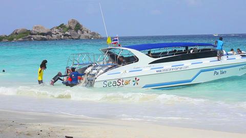 Speedboat wake of Footage