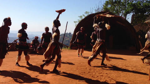 African Tribe 4 Footage