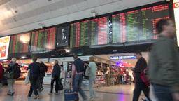 Ataturk international airport, Istanbul, Turkey Footage