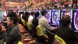 Entertainment industry in Japan, gambling in casin Footage