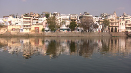 Perfect beauty in Indian city Footage