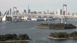 Tokyo skyline Footage