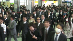 Rush hour in Tokyo Footage