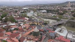 Tbilisi, Georgia capital city skyline Footage