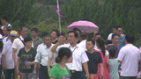 Crowds of tourists visit Terracotta Army in Xian C Footage