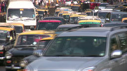 Busy traffic in Mumbai Footage