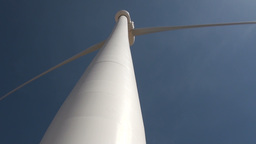 Wind Turbine In China, Renewable Energy stock footage