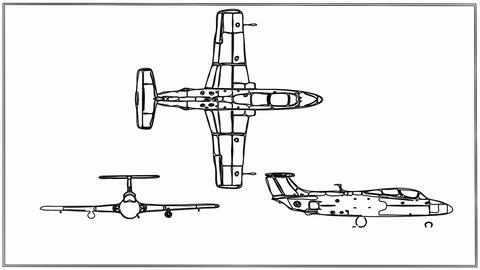 Fighter Plane drawing Animation
