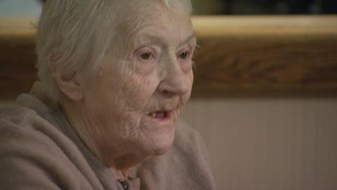 Elderly alzheimers 3 Footage