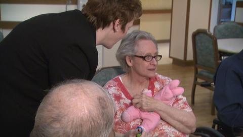 Elderly Alzheimers 5 Footage