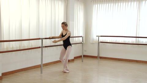 Ballet Practice Footage