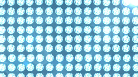 Blue Light Panel Animation